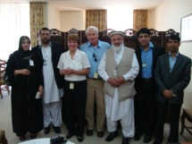 News Patty and Terry with Afghan group